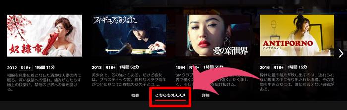 Netflix R18 検索方法
