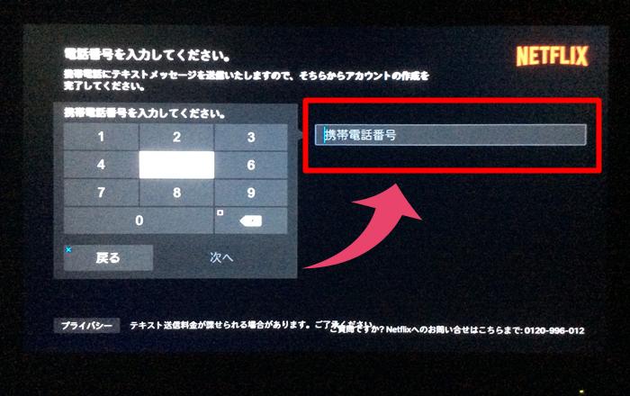 Netflix PS4 登録